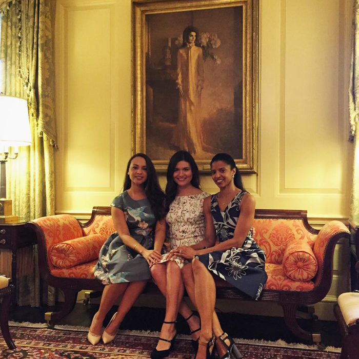 Schuylers in the (White) House. Instagram/Michelle Obama