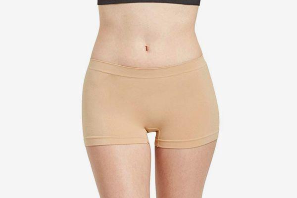 Sofra Women's Seamless Mamia Boy Shorts (6-Pack)