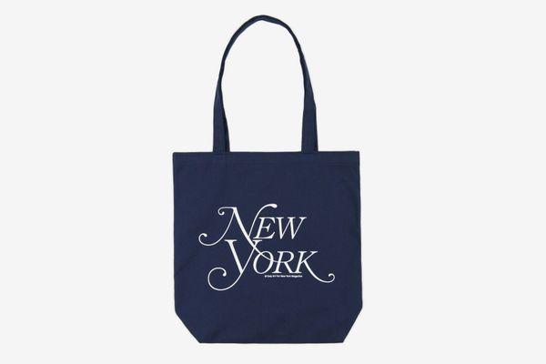 Modern Logo Tote Bag - Navy
