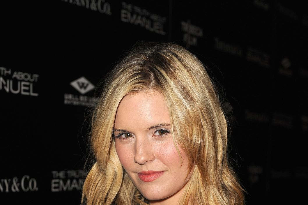 "HOLLYWOOD, CA - DECEMBER 04:  Actress Maggie Grace arrives at the premiere of Tribeca Film and Well Go USA's ""The Truth About Emanuel"" at ArcLight Hollywood on December 4, 2013 in Hollywood, California.  (Photo by Kevin Winter/Getty Images)"