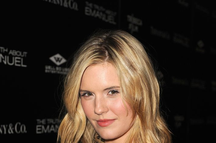 HOLLYWOOD, CA - DECEMBER 04: Actress Maggie Grace arrives at the premiere of Tribeca Film and Well Go USA's