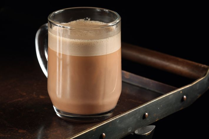 This boozy hot chocolate is on the NoMad Bar's new brunch menu.