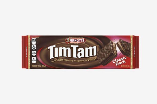 Arnott's Tim Tam Biscuits, Classic Dark, 7 Oz.
