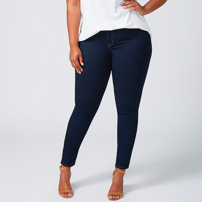 e062f6164 Lane Bryant's jeans won't tear in the thigh area. Photo: Courtesy of the  retailer