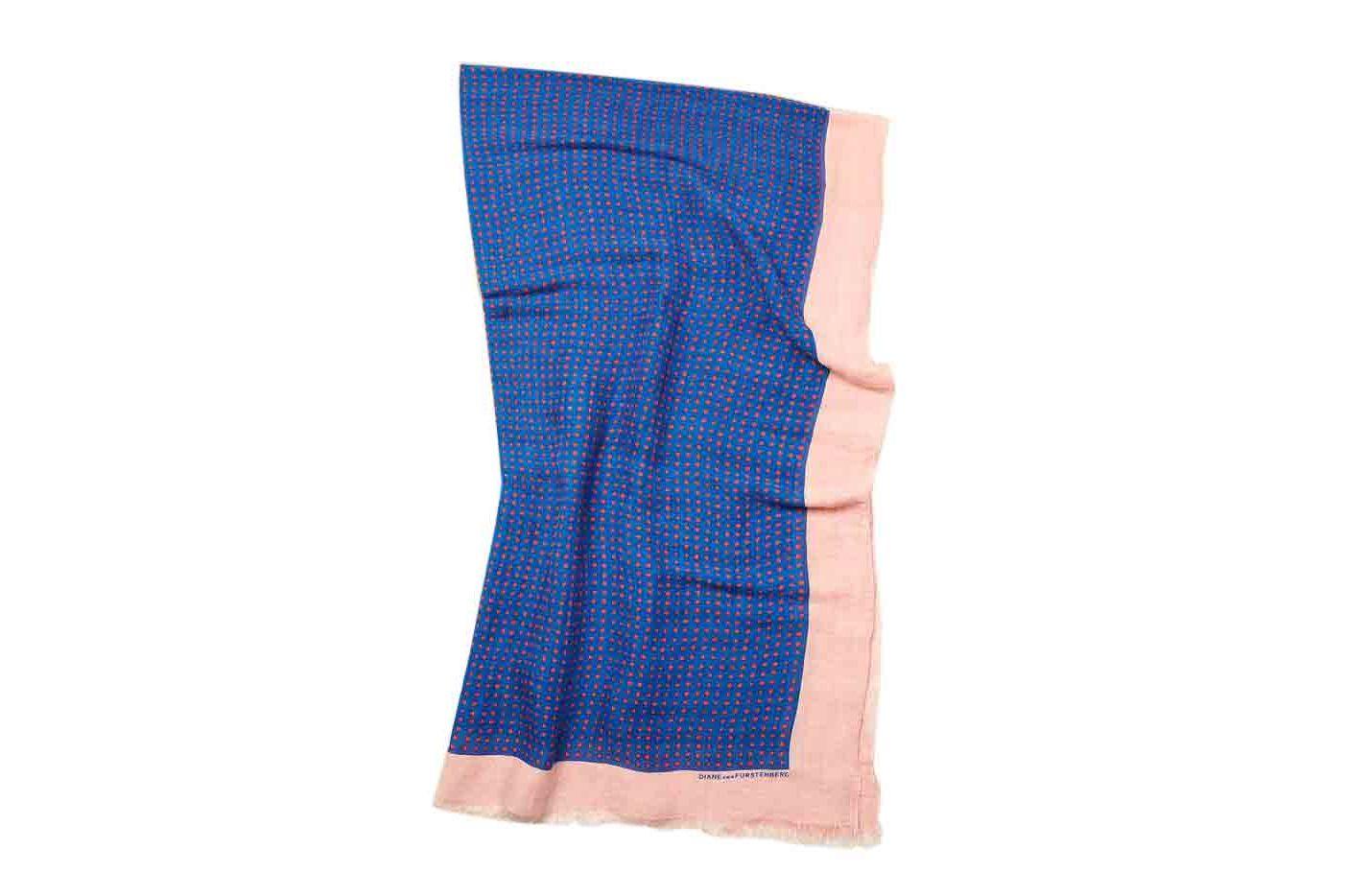 Diane von Furstenberg Linen Security Blanket