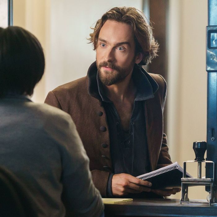 SLEEPY HOLLOW: Ichabod Crane (Tom Mison) in the
