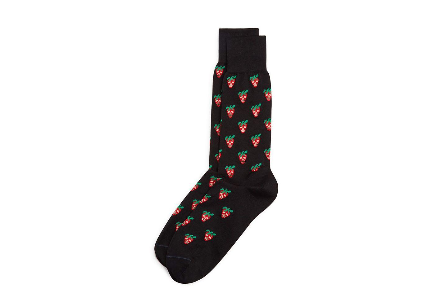 Paul Smith Strawberry Skull Socks