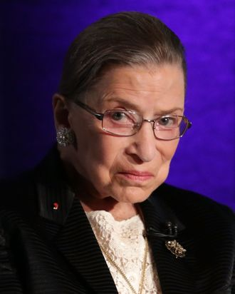 Ruth Bader Ginsburg, the consummate judge.