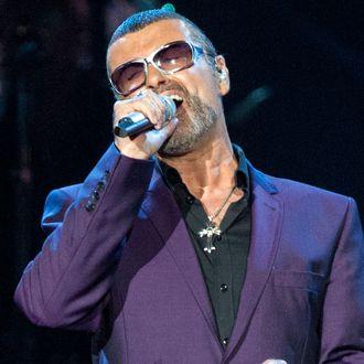 George Michael Performs In Birmingham