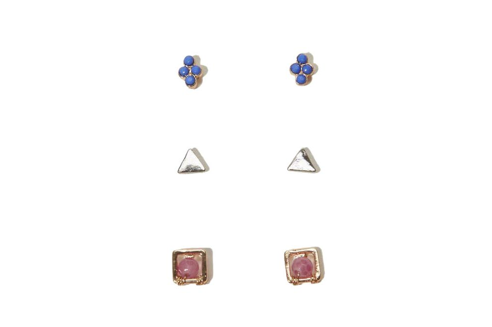 Abercrombie & Fitch Stud Earring Pack