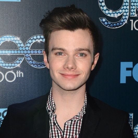 "LOS ANGELES, CA - MARCH 18:  Actor Chris Colfer attends Fox's ""GLEE"" 100th Episode Celebration held at Chateau Marmont on March 18, 2014 in Los Angeles, California.  (Photo by Mark Davis/Getty Images)"