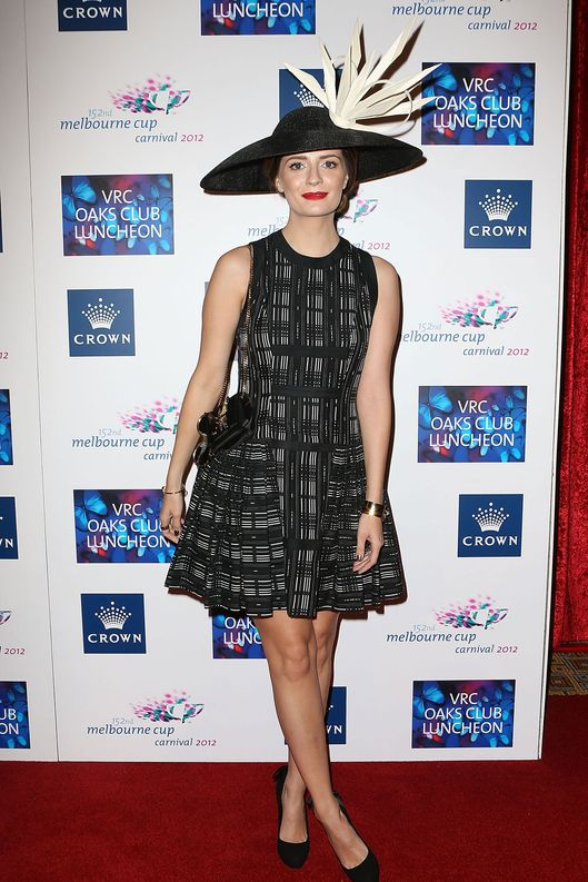 Mischa Barton attends the VRC Oaks Club Luncheon at Crown Palladium on November 7, 2012 in Melbourne, Australia.