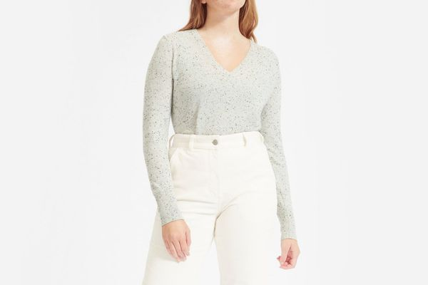 Everlane Cashmere V-Neck