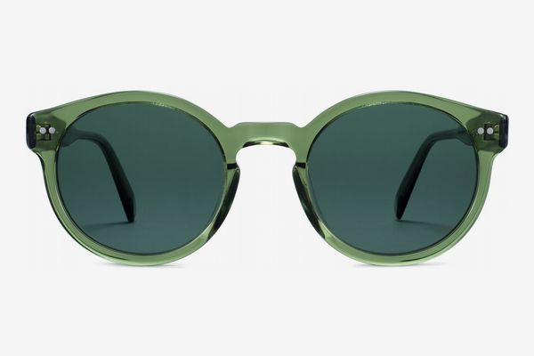Warby Parker Women's Edgemont Sunglasses, Rosemary Crystal