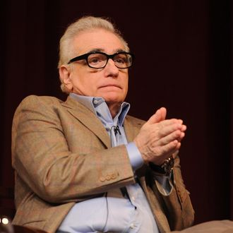 Director Martin Scorsese speaks onstage at the 66th Annual Directors Guild of America Awards Feature Film Symposium held at Directors Guild Of America on January 25, 2014 in Los Angeles, California.