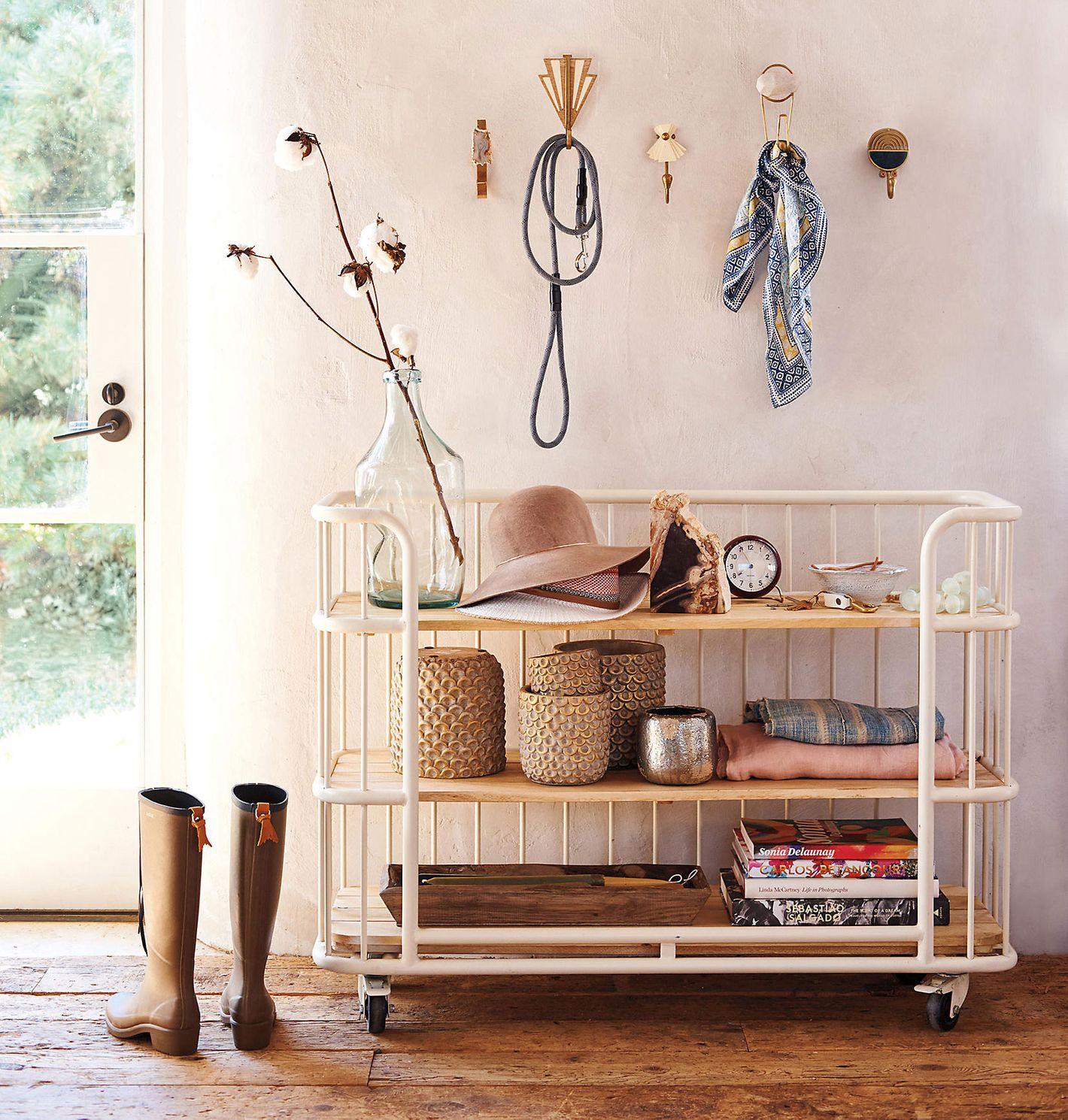 Visby Three-Tier Bookcase