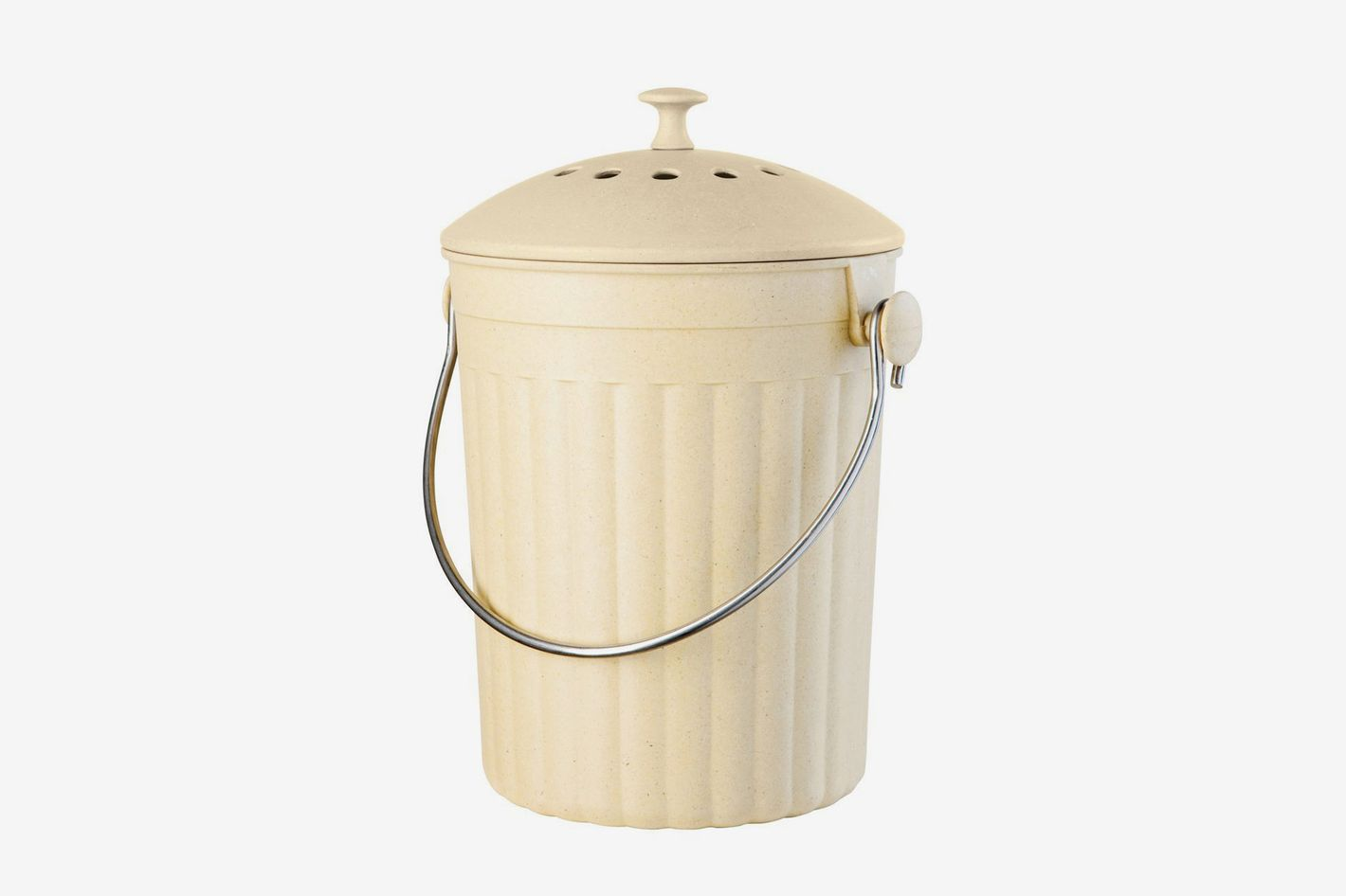 Oggi Countertop Compost Pail With Charcoal Filter