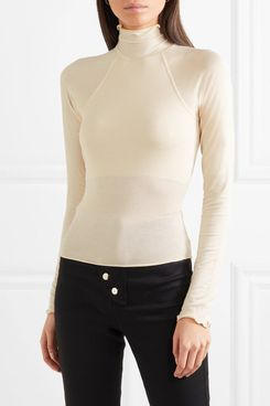 The Line By K Open-back Stretch Top