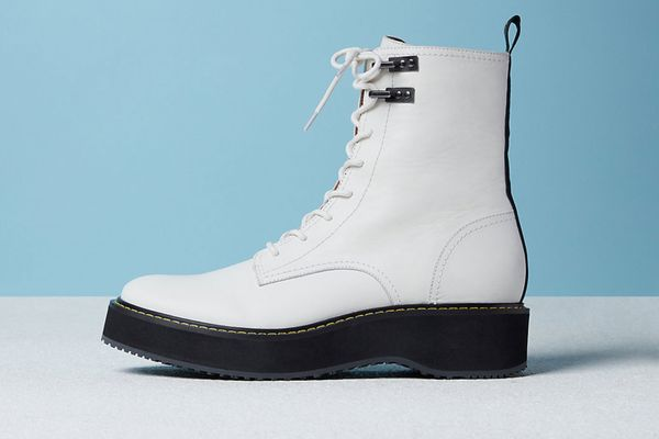 In-Charge Leather Combat Boot