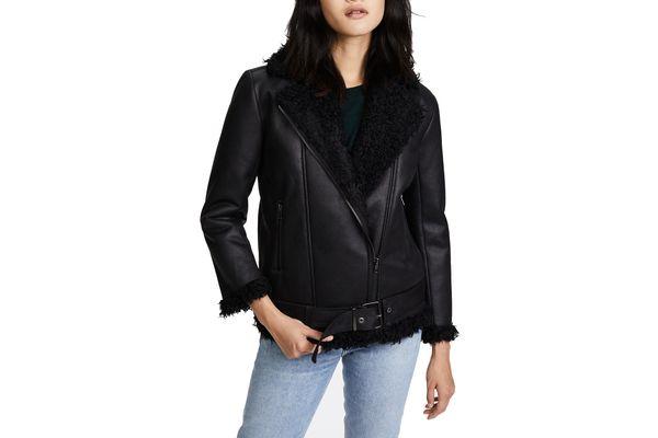 BB Dakota Bosworth Vegan Leather Jacket