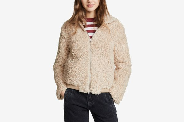 Endless Rose Faux Shearling Jacket