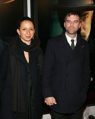 NEW YORK - DECEMBER 10: Director Paul Thomas Anderson (R) and actress Maya Rudolph arrive at Paramount Vantage Presents The Premiere Of
