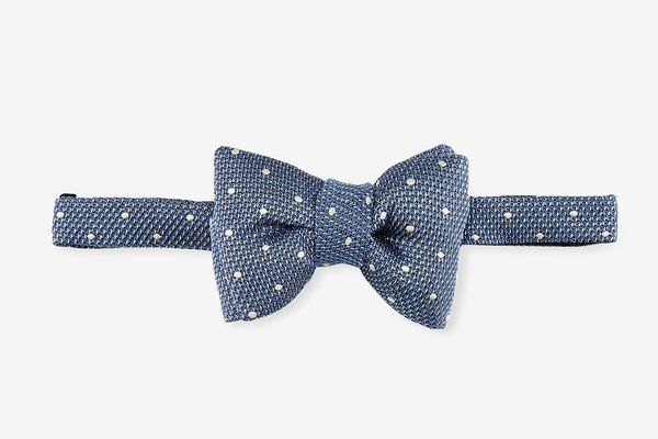 Tom Ford Textured Dot Bow Tie