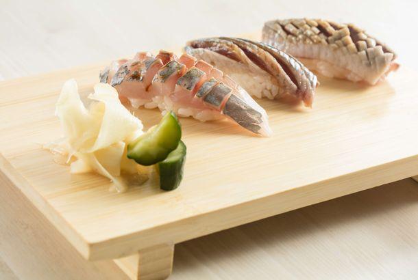 Japanese sashimi milf