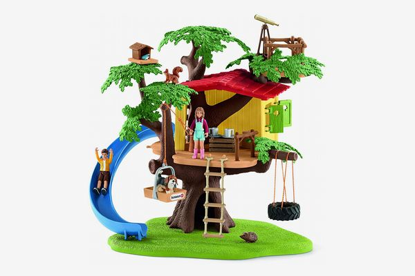 Schleich 42408 Adventure Tree House Play Set, Multicolor
