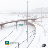 """Historic"" Blizzard Sweeps Through Texas Panhandle"