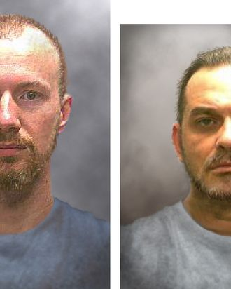 Progression Images Of Escaped Inmates Released
