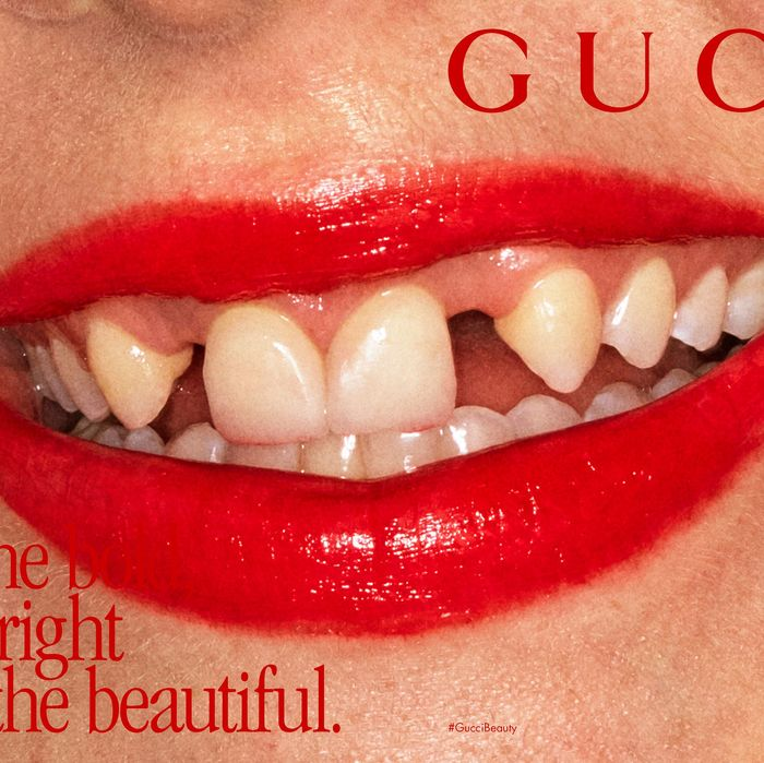 Gucci Has 58 New Lipsticks and Beauty Ad With Crooked Teeth