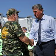 United Mine Workers Holds Rally Urging Congress To Preserve Benefits For Retired Coal Miners