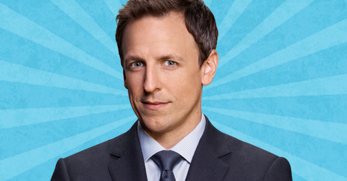 Seth Meyers's Favorite Trump Jokes for You to Use and Enjoy, As Told at Comic Con