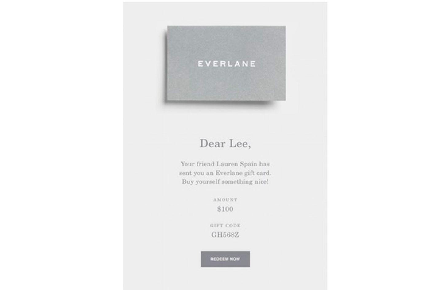 30 e gift cards that make perfect last minute gifts everlane gift card 1betcityfo Gallery