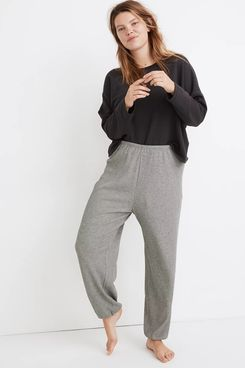 Madewell Waffle-Knit Pajama Sweatpants