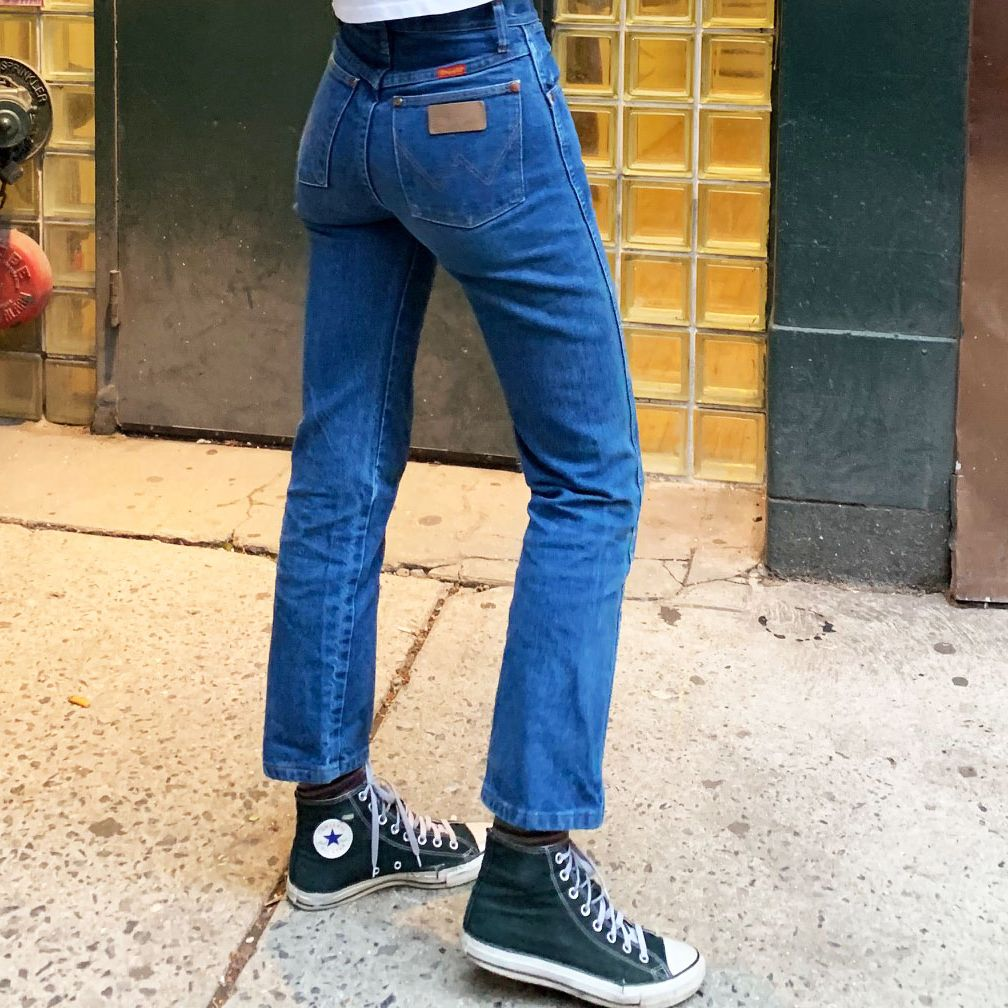 Wrangler Cowboy-Cut Slim-Fit Jeans for