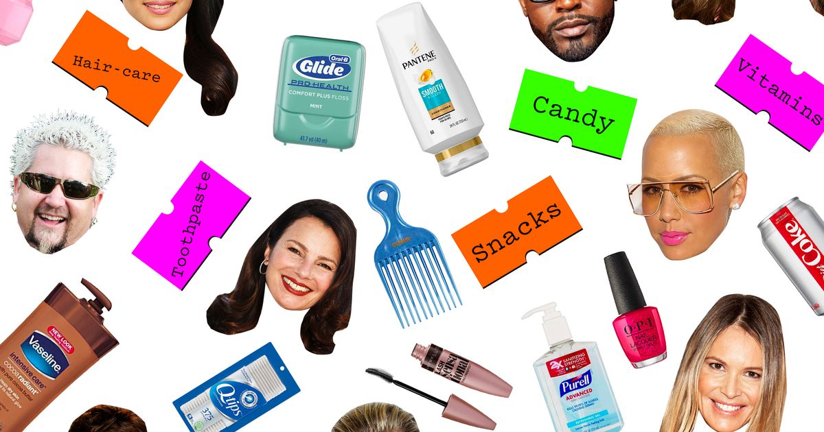 109 Famous People on Their 149 Favorite Drugstore Products