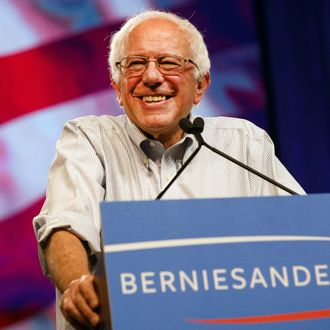 Democratic Presidential Candidate Bernie Sanders Holds Campaign Event At The LA Memorial Sports Arena