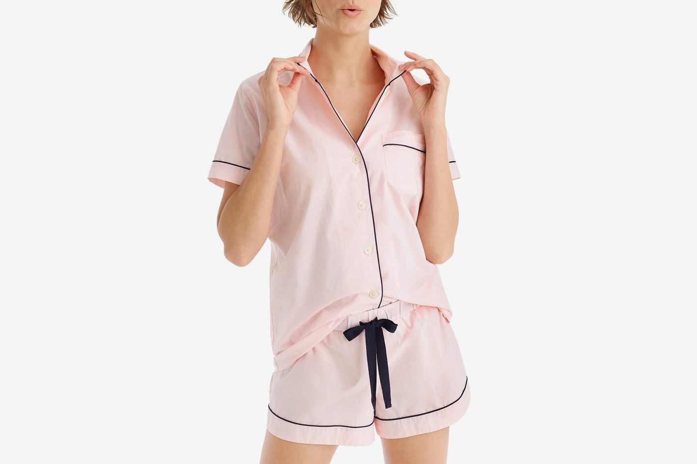 J.Crew End on End Cotton Short Pajamas