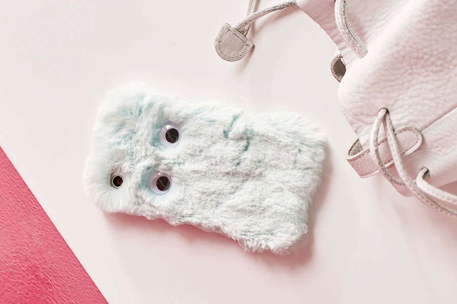 Blue Furry Thing iPhone 7 Case