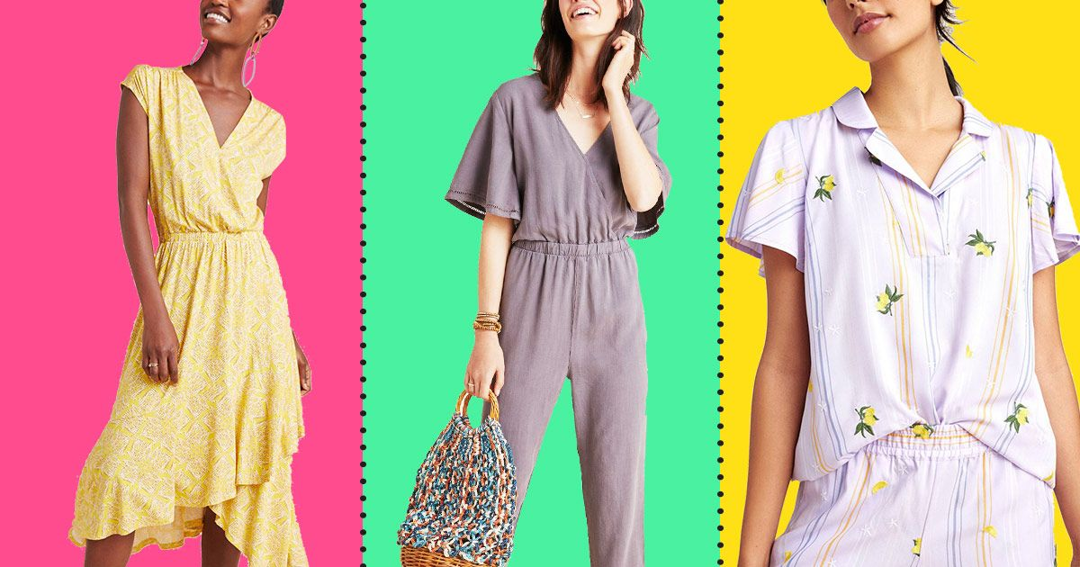 Summer Dresses, Jumpsuits (and More) Are Up to 69 Percent Off at Anthropologie