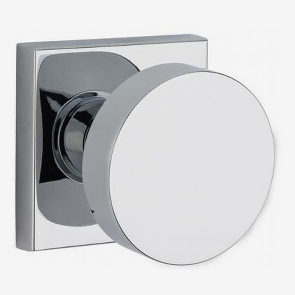 Baldwin Contemporary Reserve Polished Chrome Bed/Bath Doorknob