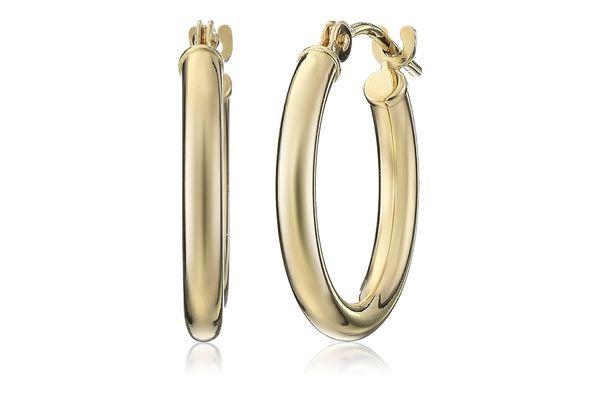Amazon Collection Hoop Earrings