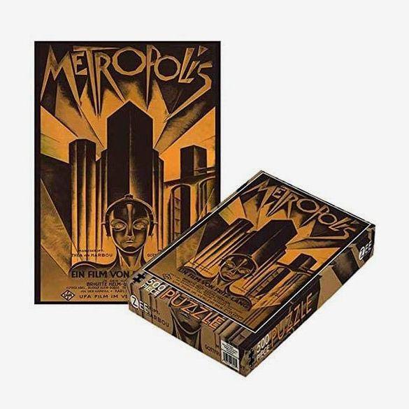 Metropolis 500 Piece Jigsaw Puzzle