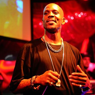 LONG BEACH, CA - JANUARY 05: Rapper DMX performs at the DGK Agenda Party at Cafe Sevilla on January 5, 2012 in Long Beach, California. (Photo by Jerod Harris/WireImage)
