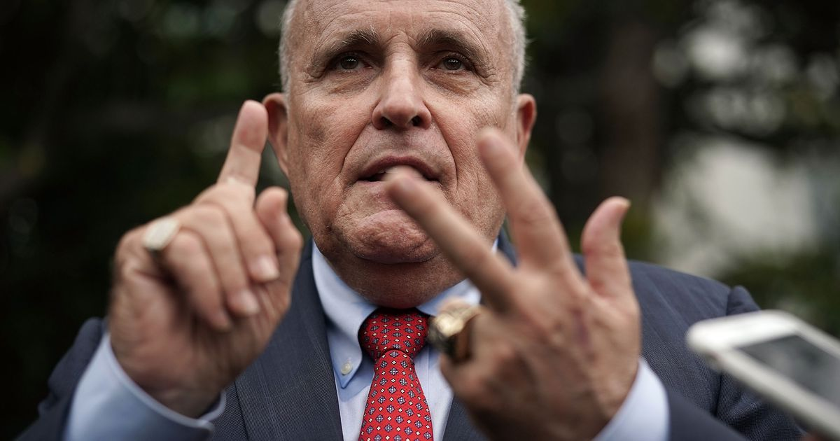 The Biden Campaign Wants Giuliani Off the Air