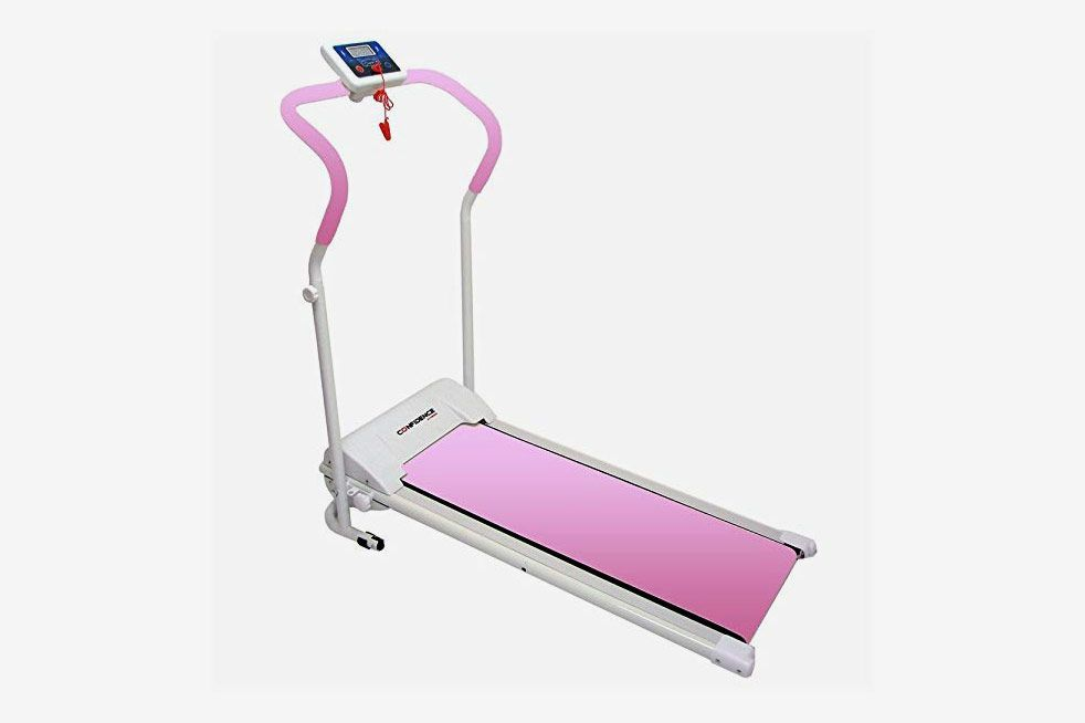 Confidence Power Plus Motorized Fitness Treadmill Pink