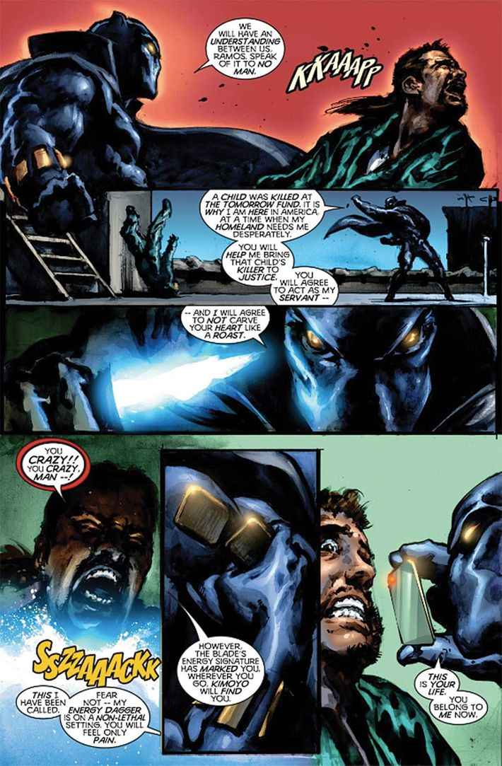 Christopher Priest Made Black Panther