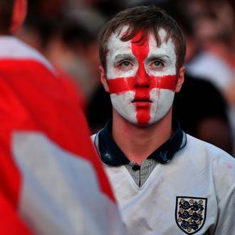 Crying lad.